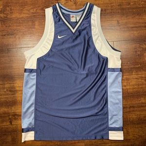 Vintage NIKE Basketball Warm Up Sleeveless Jersey